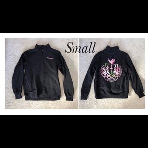 Sweaters - Panhellenic quarter zip size small